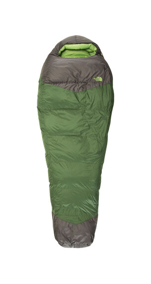 The North Face Green Kazoo Sovsäck Reg grön